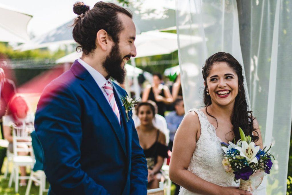 Kotty & Marce, la boda al aire libre chilena más chévere. 13