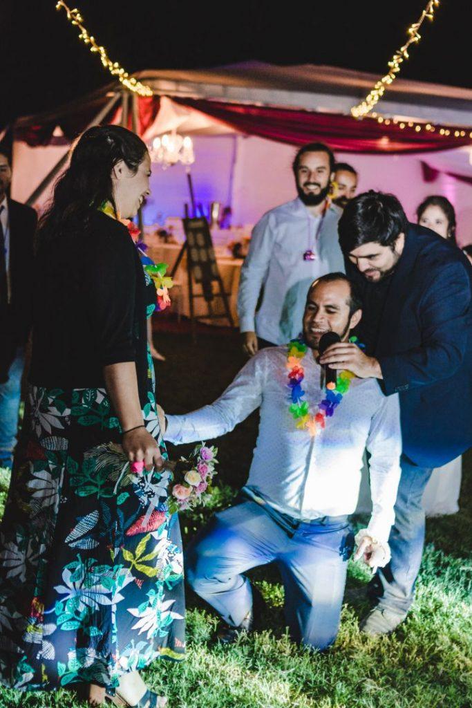 Kotty & Marce, la boda al aire libre chilena más chévere. 29