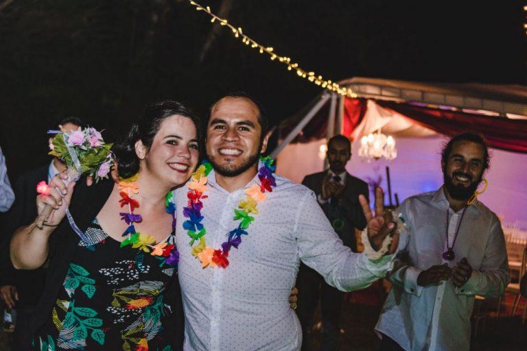 Kotty & Marce, la boda al aire libre chilena más chévere. 34