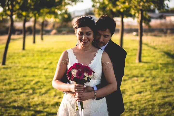 Matrimonio pequeño en Macul