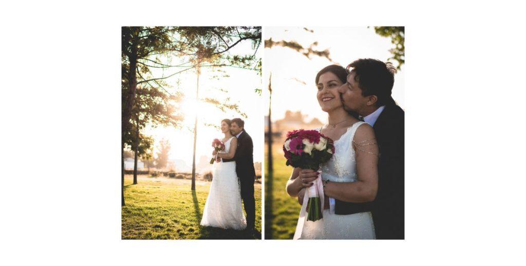 Mariana & Ivan un matrimonio pequeño en Macul y San Bernardo 9