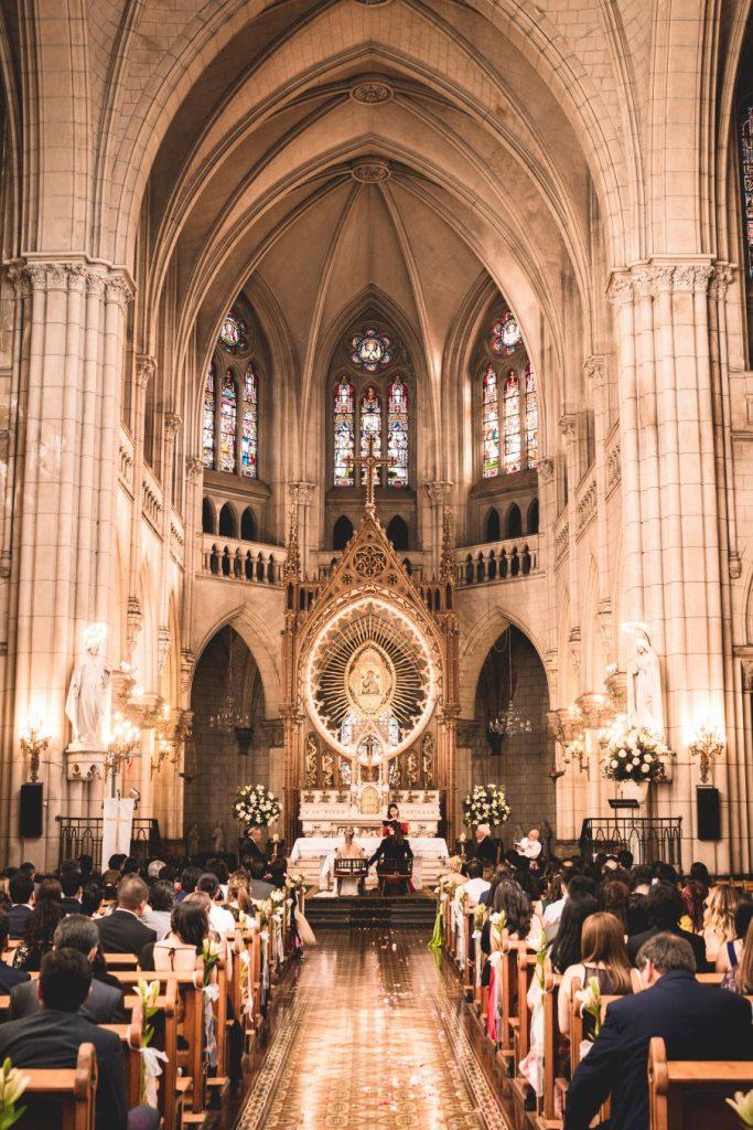 Basílica de Nuestra Señora del Perpetuo Socorro en Santiago de Chile