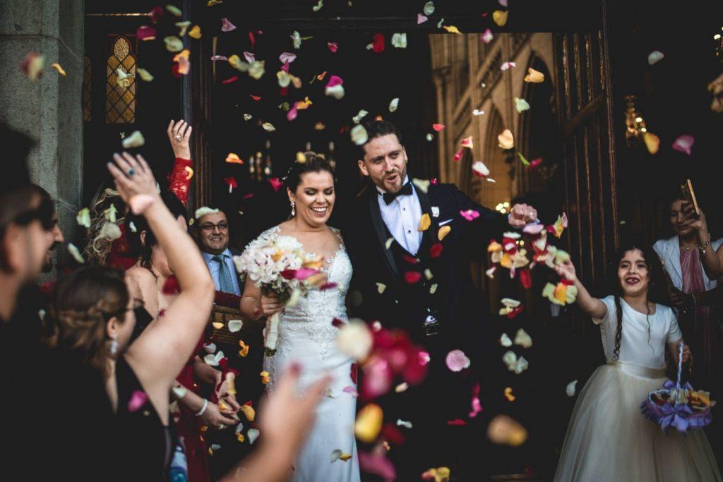 Matrimonio en Basílica de Nuestra Señora del Perpetuo Socorro (Nicole & Héctor) 13