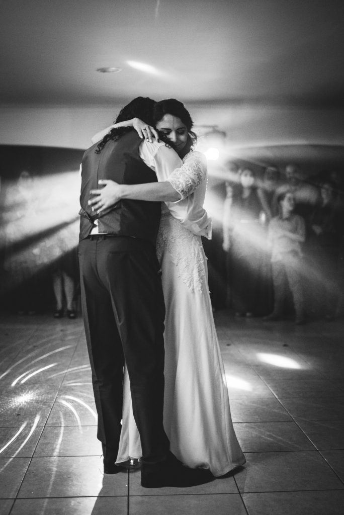Matrimonio al ritmo de la cumbia , primer baile