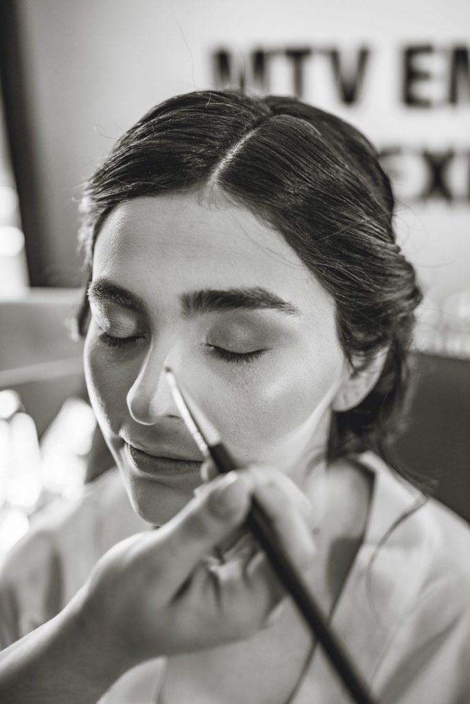 Fotos preparación y maquillaje novia venezolana