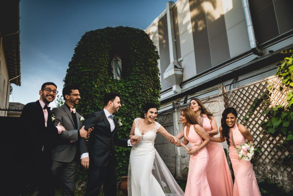 Fotos de boda en La Floria , capilla Santa Irene