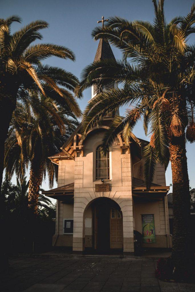 Capilla Santa Irene, La Florida SAntiago de Chile